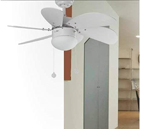 Bianco Faro Palao Ventilatore a Soffitto con Luce