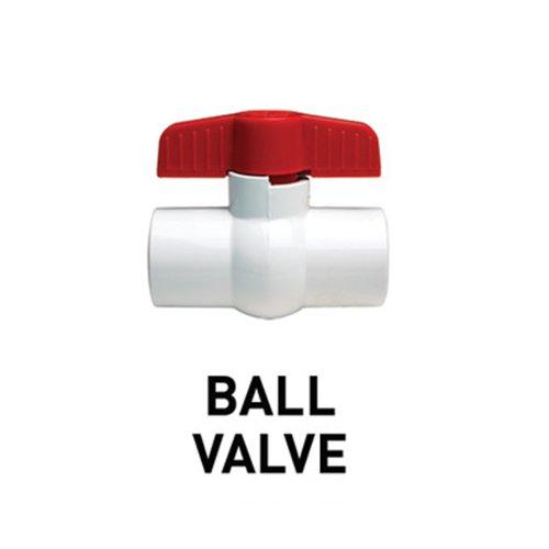 Lifegard Aquatics Home Outdoor Plumbing Ball Valve Threaded - 1/2