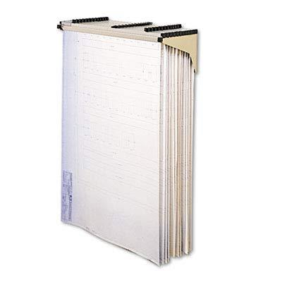 Safco Sheet File Drop/Lift Wall Rack