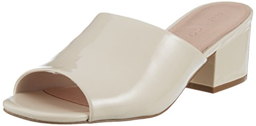 Bianco cream Beige Sabot 23 Mule Slip In Donna UxrOU