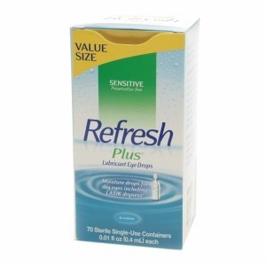 Refresh Plus Lubricant Eye Drops, Single-Use Containers, 70 ea by Refresh Plus