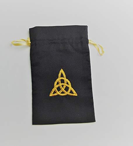 Gift Bag (Large) in a Celtic Eternity Knot Design (Black) ()