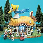 Department 56 Storybook Village Collection MOTHER GOOSE BOOK CELLAR (56 Storybook)