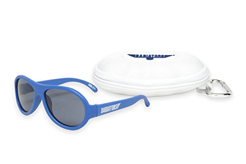Babiators Gift Set - Blue Angels Original Sunglasses (Ages 3-7+) and Cloud - Angel Eyewear