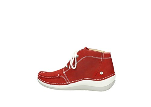 Lace Summer up Wolky Red Nubuck Boots 10570 Comfort Olympia 7aTnqTRU