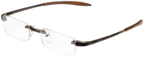 Optx20/20  Ecoclear Oxygen Bio-based Reading Glasses, Tortoi