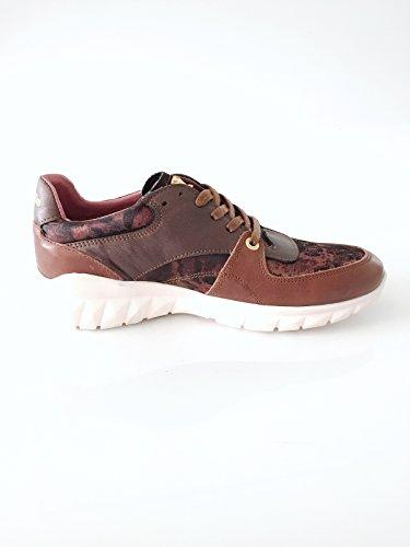 Pantofola dOro Damenschuh Sneaker Echtleder braun Größe 37