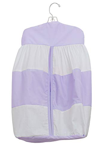 Baby Doll Lodge Collection Diaper Stacker, Lavender