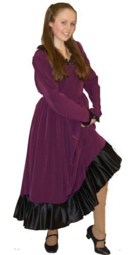 Victorian Kids Costumes & Shoes- Girls, Boys, Baby, Toddler Dickens-Oliver DELUXE NANCY Childs Fancy Dress Costume - All Ages $61.99 AT vintagedancer.com