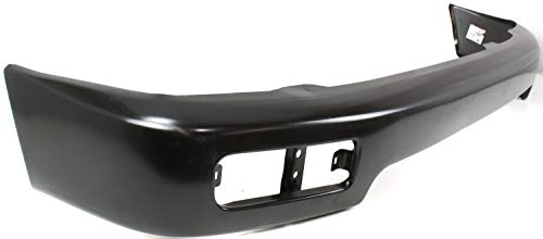 Front Bumper Compatible with 1996-1998 Toyota 4Runner Face Bar Black Base/SR5 Models