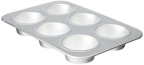 Wilton Aluminum 6-Cup Jumbo Muffin Pan