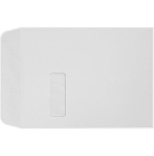(9 x 12 Open End Window Envelopes - 28lb. Bright White (500 Qty.) | Perfect for Tax Season, Sending Catalogs, Pamphlets, Brochures and so Much More! | 28lb Paper | 1590-500 )