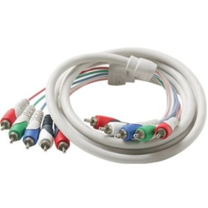 steren-custom install 257-612bk 12 5-rca component video/audio cable