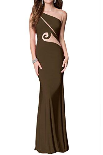 Missdressy - Vestido - trapecio - para mujer marrón