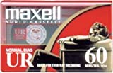 Maxell UR-60 Audio Cassette- Box of 10