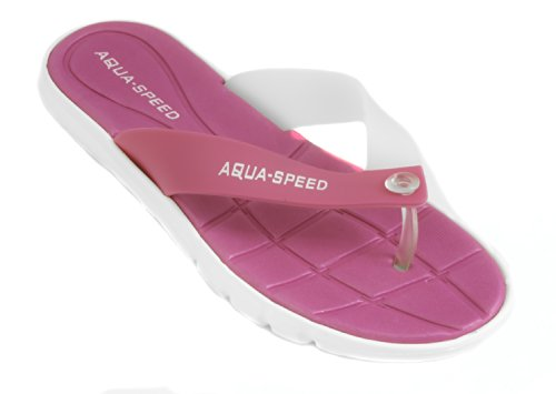 speed Chaussures Femme Rose blanc Aqua Pool Bali 4xZIqwd