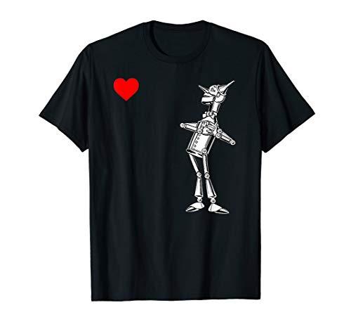 Cute OZ Heart Shirt-The Wizard of OZ Tin Man TShirt]()