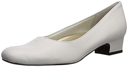 Trotters Womens Doris Pump White