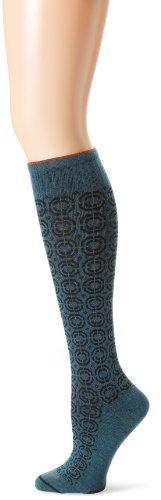 Sockwell Women's Meta Cushion Moderate (15-20mmHg) Compression Socks, Small/Medium - Teal