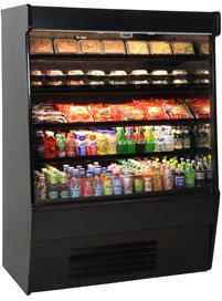 Self Service Refrigerated Display Case (Structural Concepts CO57R Oasis Self-Service Refrigerated Case 59-1/4