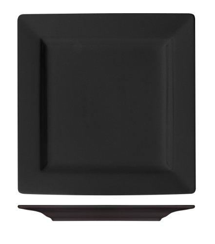 ITI EL-40-BL Harvest Square Plate 12-Inch 6-Piece Blackberry