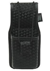 Bianchi, 7914S AccuMold Elite Universal Radio Holder, Basketweave Black