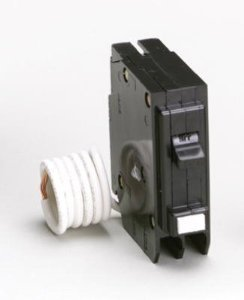Eaton Corporation GFCB115CS Single Pole Ground Fault Interrupter Circuit Breaker, 120V, (Ground Fault Interrupter)