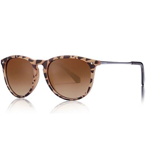 f509ee9787 Gafas de Sol Polarizadas, Carfia UV400 Gafas de Sol Polarizadas Metal de  Moda para Conducción