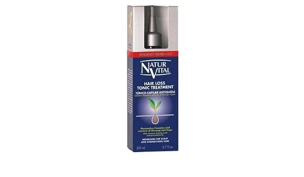 Natur Vital Tonic de pérdida de pelo tratamiento 200 ml: Amazon.es: Belleza