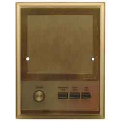 Nutone IS319 Antique Brass Intercom Patio Speaker for IM3303, IMA3303, IM3003 Systems