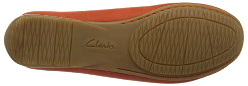 Clarks Doraville Nest, Women's Mocassins Red (Grenadine Nubuck)