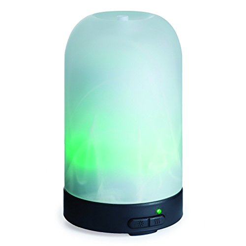 Airomé Ultrasonic Essential Oil Diffuser, Frosted (Frosted Glass Diffuser)