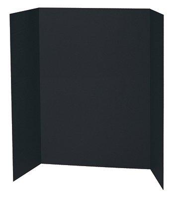 BLACK PRESENTATION BOARD 48X36 by Pacon