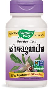 Nature s Way - Ashwagandha, 60 veggie caps