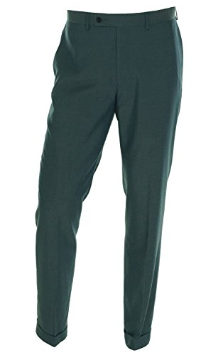 Calvin Klein Extreme Slim Fit Micro Plaid Blue Pants (36w x 34L) by Calvin Klein