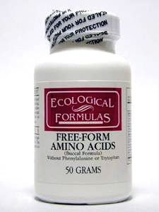 Ecological Formulas - Free-Form Amino Acids 50 gms