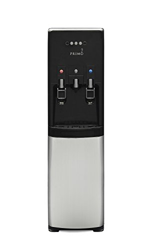 hTRIO Hot & Cold Water Dispenser and Single Serve Coffee Brewer by Primo