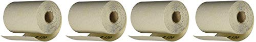 PORTER-CABLE 740001201 4 1/2-Inch by 10yd 120 Grit Adhesive-Backed Sanding Roll (4-(Pack))