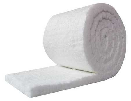 UniTherm Ceramic Fiber Insulation Blanket Roll, (8# Density, 2300°F)(1