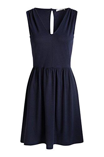 edc by Esprit Mit Rückendetails, Vestido para Mujer Azul (DARK BLUE 405)