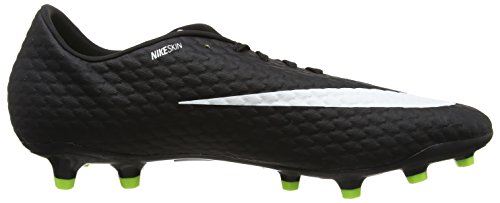 Nike Herren Hypervenom Phelon III FG Fußballschuhe Orange (Laser Orange/black-black-volt-white)