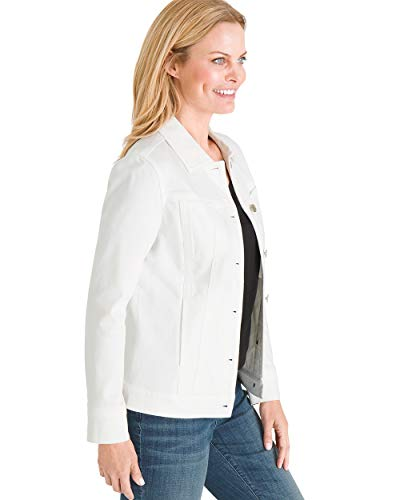 Chico's Women's Classic Stretch Denim Jacket