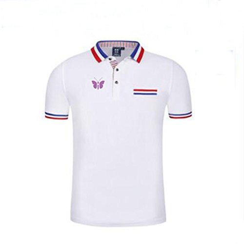 Mystic Mens High Performance Pocket Cotton Printed Polo Shirt/Casual Shirt/Sport Shirt/Office Shirt-W-S