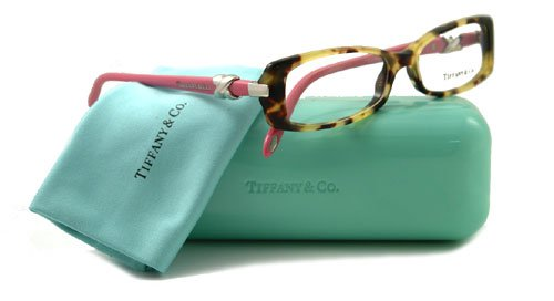 084073c346d Image Unavailable. Image not available for. Colour  Tiffany   Co. Women s  2016 Yellow Tortoise   Pink Frame Plastic Eyeglasses ...