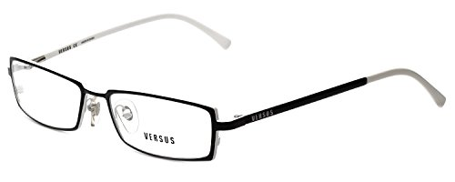 Versus Designer Reading Glasses 7047-1009-50 in Black/White (Versus Eyeglass Frames)