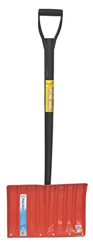 EMSCO GROUP 1173 Poly Handle Metal Edge Snow Shovel