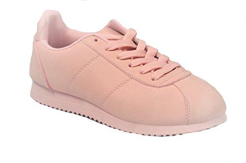 G.N.D Women Classic Sneaker #1701 Pink onjif