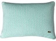 Lacoste Jersey Knit Basketweave 12×18 Throw Pillow