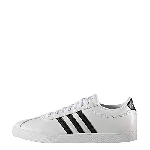 Mujer Para Courtset Zapatillas Deporte W De Adidas Blanco 8Yq1BXB