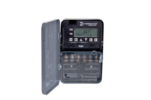 Intermatic ET8215C Time Switch 2-Circuit/30-Amp Gray